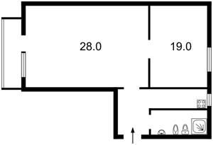 Квартира Городецького Архітектора, 4, Київ, X-29033 - Фото2