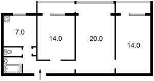 Квартира Митрополита Андрея Шептицького (Луначарського), 24, Київ, C-90254 - Фото 2