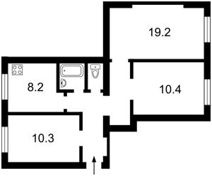 Квартира Сечевых Стрельцов (Артема), 79, Киев, H-35151 - Фото2