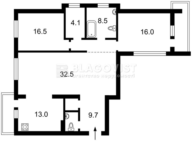 Квартира A-104555, Науки просп., 30, Киев - Фото 6