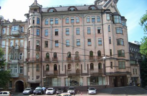 Окремо розташована будівля, Хмельницького Богдана, Київ, P-28315 - Фото