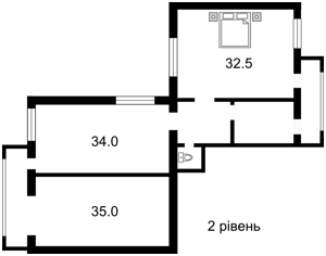 Квартира Перемоги просп., 105, Київ, X-24306 - Фото 3