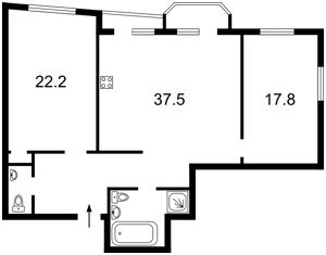 Квартира Львівська, 22а, Київ, C-90891 - Фото2