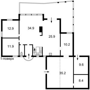 Будинок M-25008, Білогородка - Фото 9