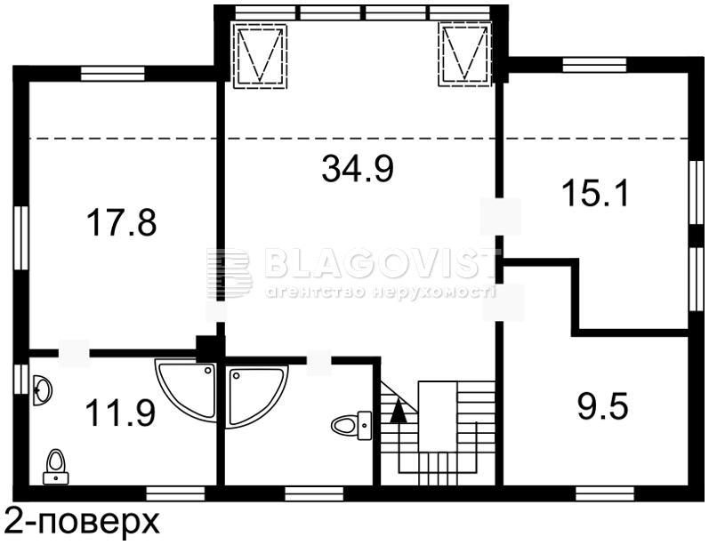 Будинок M-25008, Білогородка - Фото 10