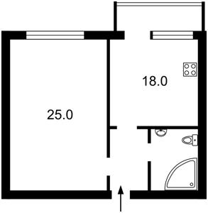 Квартира Героев Сталинграда просп., 8, Киев, Z-1352756 - Фото3