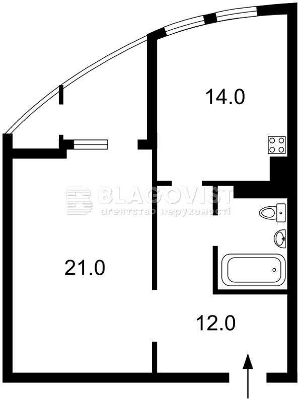 Квартира Z-1505953, Григоренко Петра просп., 22/20, Киев - Фото 4