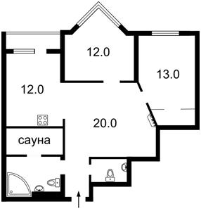 Квартира Коновальца Евгения (Щорса), 32г, Киев, Z-1597585 - Фото2