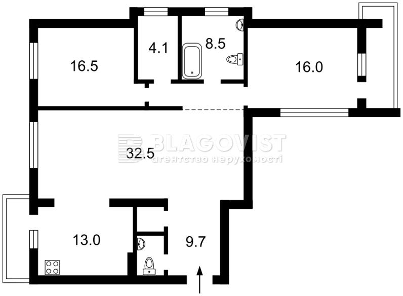 Квартира A-104749, Науки просп., 30, Киев - Фото 5