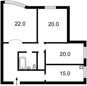 Квартира Академіка Палладіна просп., 20, Київ, X-24478 - Фото2