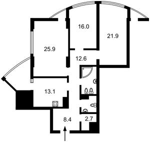 Квартира Глубочицкая, 32б, Киев, X-26664 - Фото2