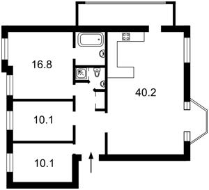 Квартира Дарвина, 10, Киев, Z-1630471 - Фото 2