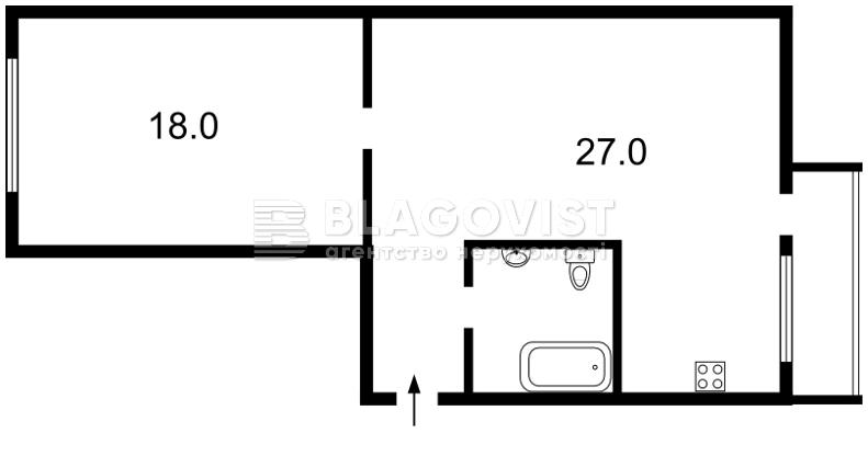 Квартира X-26499, Резницкая, 11, Киев - Фото 4