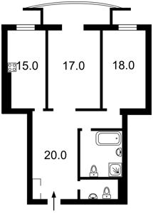 Квартира Старонаводницкая, 6б, Киев, X-22734 - Фото 2