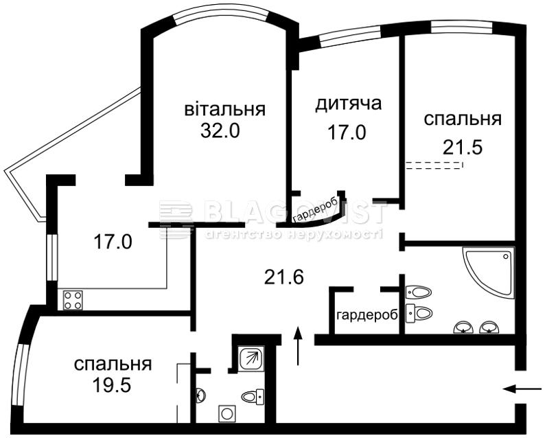 Квартира H-32840, Героев Сталинграда просп., 12ж, Киев - Фото 5