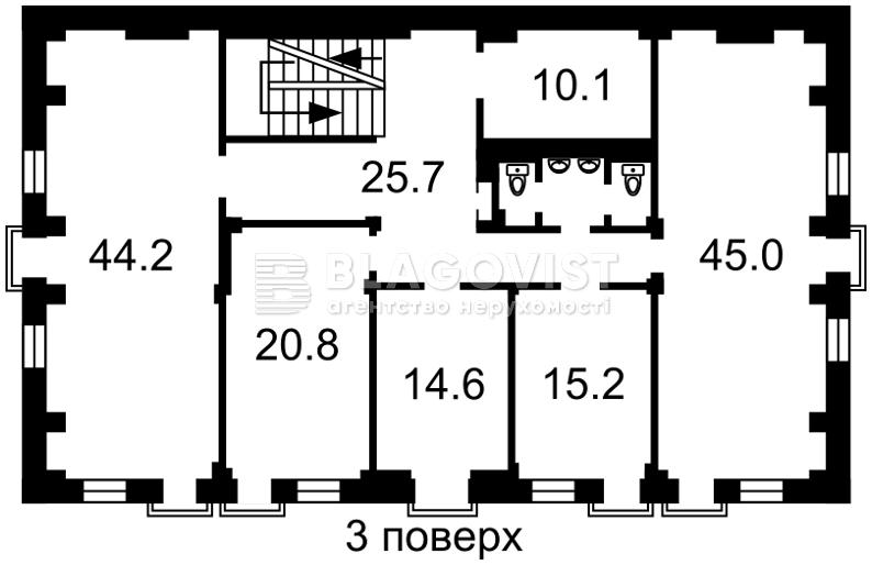 Нежилое помещение, Жилянская, Киев, P-17190 - Фото 5