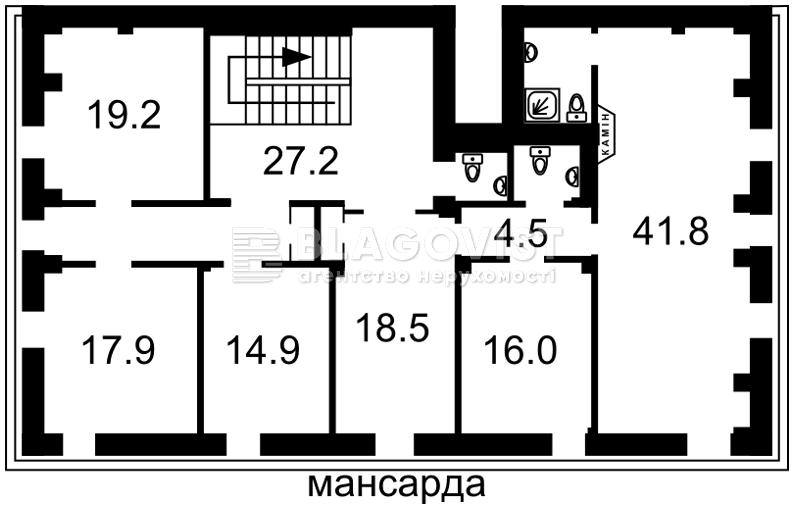 Нежилое помещение, Жилянская, Киев, P-17190 - Фото 6