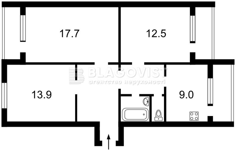 Квартира X-17649, Райдужна, 35, Київ - Фото 4