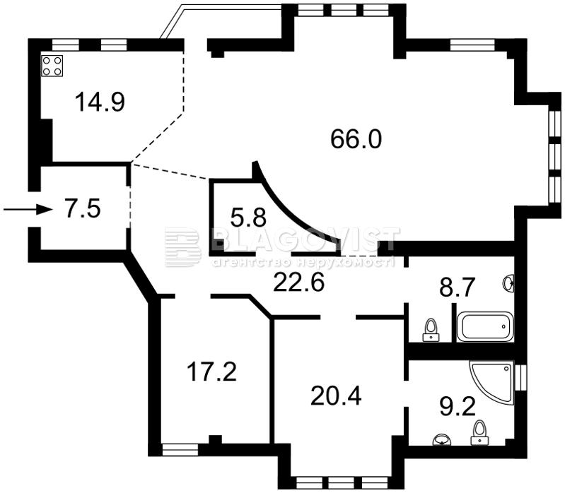 Квартира H-35951, Пирогова, 6а, Киев - Фото 5