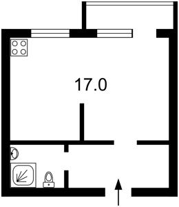 Квартира Мазепы Ивана (Январского Восстания), 12, Киев, Z-1105909 - Фото2