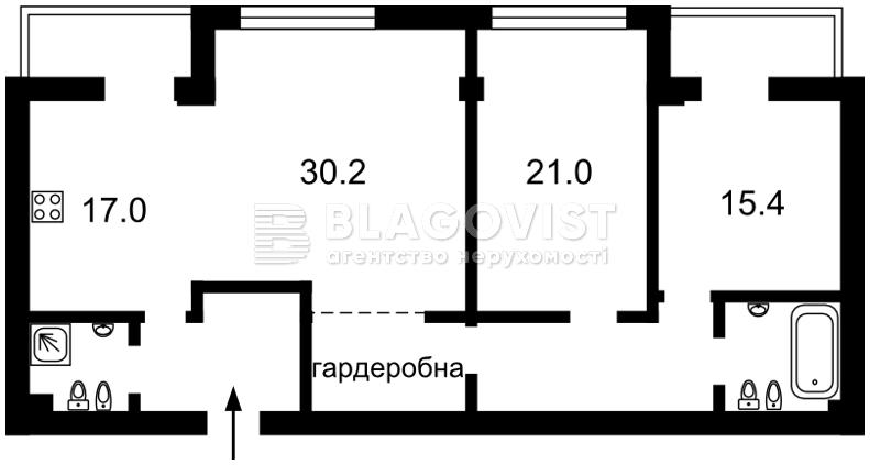 Квартира C-102122, Круглоуніверситетська, 3/5, Київ - Фото 6