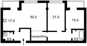Квартира Круглоуніверситетська, 3/5, Київ, C-102122 - Фото 2