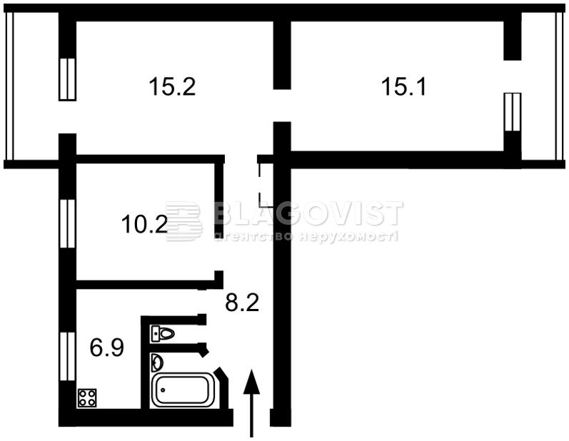 Квартира H-36042, Гречко Маршала, 22, Киев - Фото 2