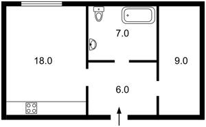 Квартира Оболонская набережная, 1 корп.2, Киев, F-34275 - Фото2