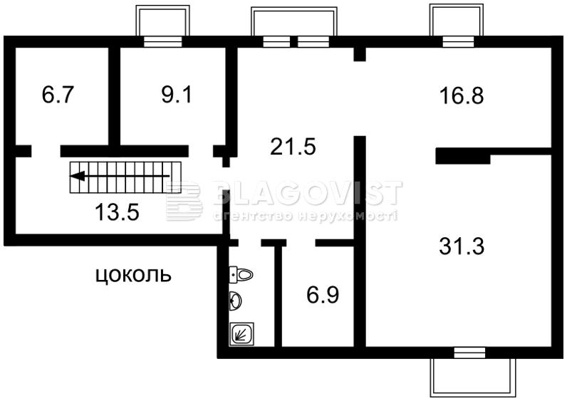 Дом H-35905, Ставропольская, Киев - Фото 3