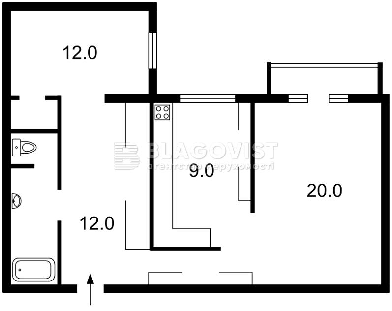 Квартира H-36127, В.Житомирська, 8а, Київ - Фото 5
