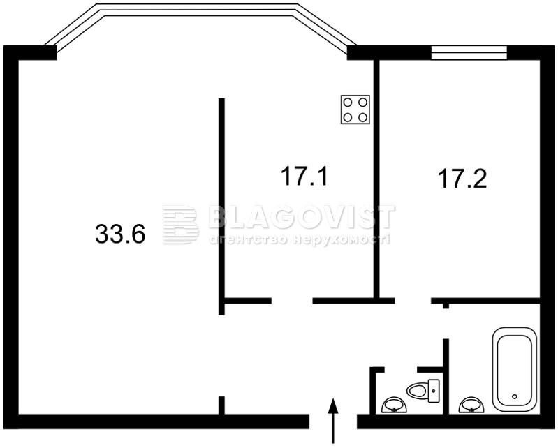 Квартира D-30067, Тычины Павла просп., 2, Киев - Фото 3