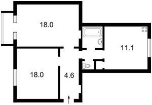 Квартира C-76823, Тютюнника Василя (Барбюса Анрі), 5, Київ - Фото 3