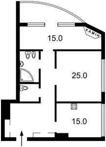Квартира Героев Сталинграда просп., 47а, Киев, Z-1637660 - Фото2