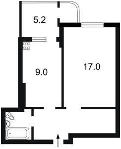 Квартира Кондратюка Юрия, 7, Киев, X-23568 - Фото2