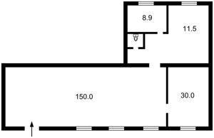 Нежитлове приміщення, Повітрофлотський просп., Київ, Z-1713139 - Фото2