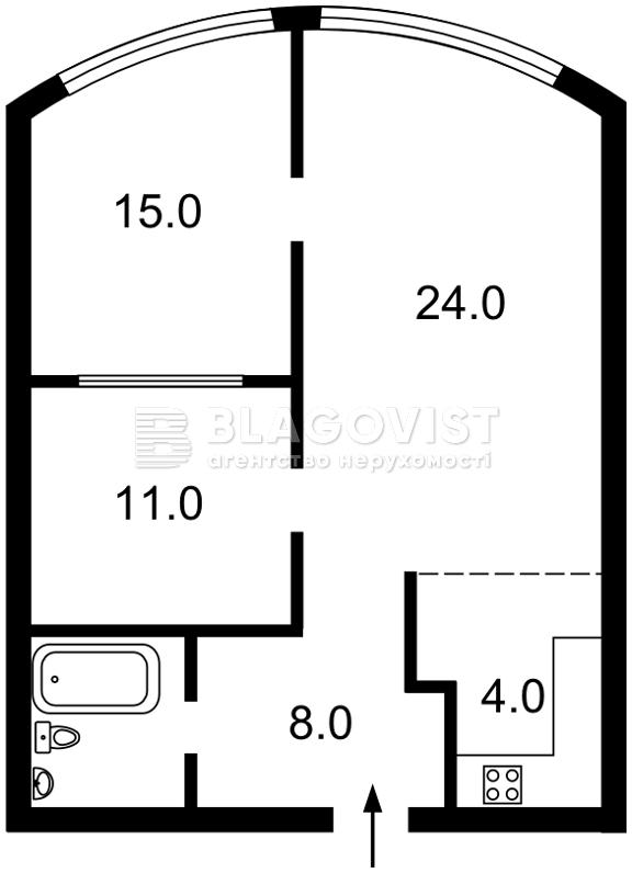 Квартира A-105154, Дегтяревская, 25а, Киев - Фото 6