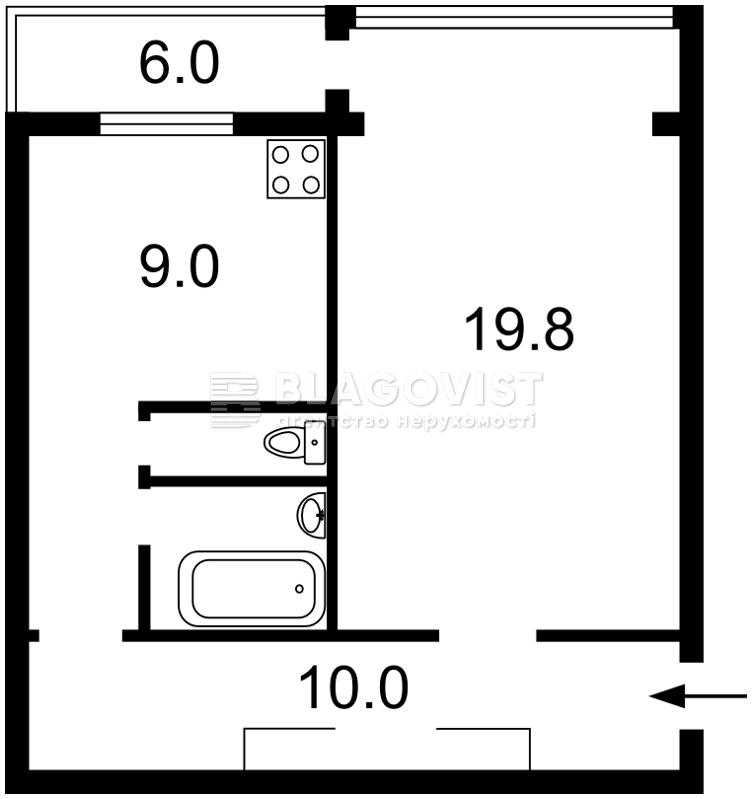 Квартира Z-1247329, Ольжича, 18, Киев - Фото 2
