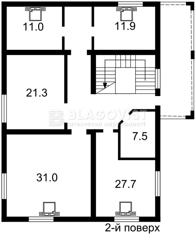 Дом F-35099, Старокиевская, Козин (Конча-Заспа) - Фото 3