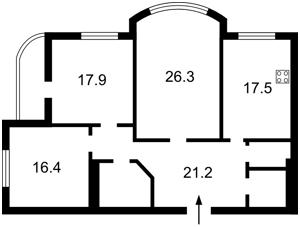 Квартира Нежинская, 5, Киев, F-15622 - Фото 2
