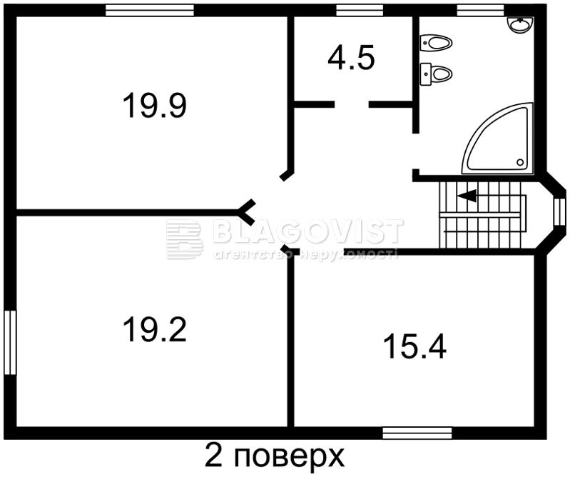Дом X-29577, Молодежная, Ворзель - Фото 5