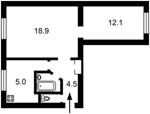 Квартира Федорова Ивана, 1, Киев, Z-769741 - Фото2