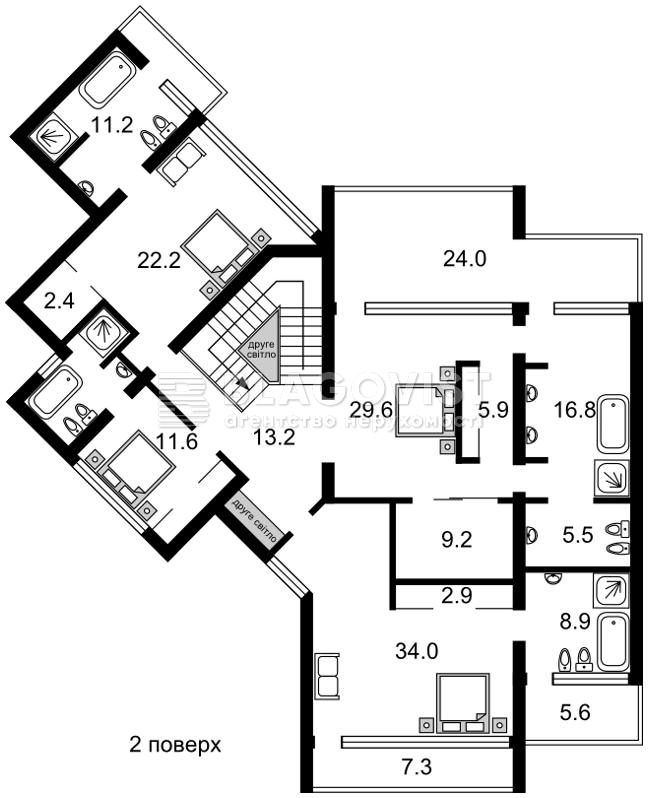 Дом C-102304, Черкасская, Петропавловская Борщаговка - Фото 3