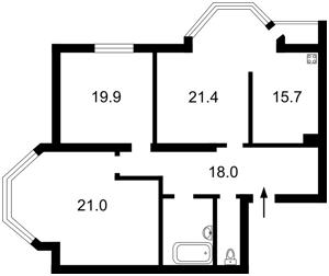 Квартира Волинська, 9а, Київ, N-16143 - Фото2