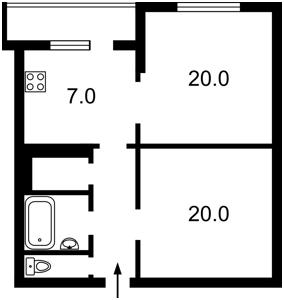 Квартира Большая Васильковская, 66, Киев, M-6026 - Фото2