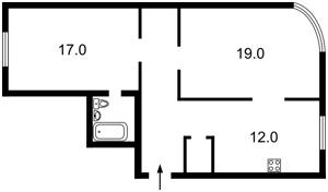 Квартира Героев Сталинграда просп., 2д, Киев, Z-1603799 - Фото2