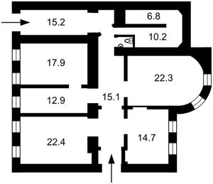Офис, Хмельницкого Богдана, Киев, X-28934 - Фото2