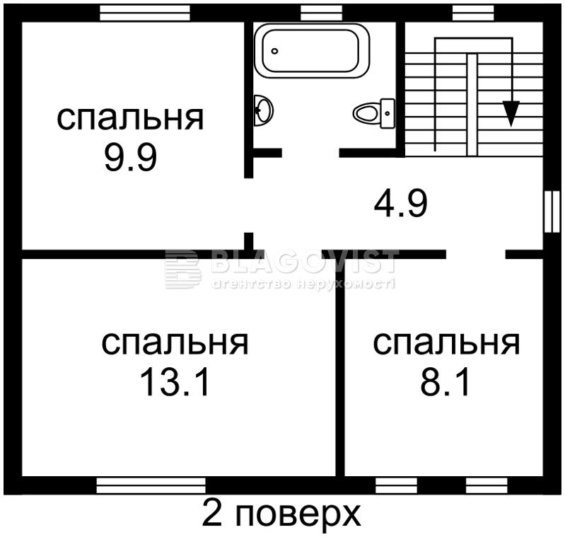 Дом H-36576, Колонщина - Фото 2