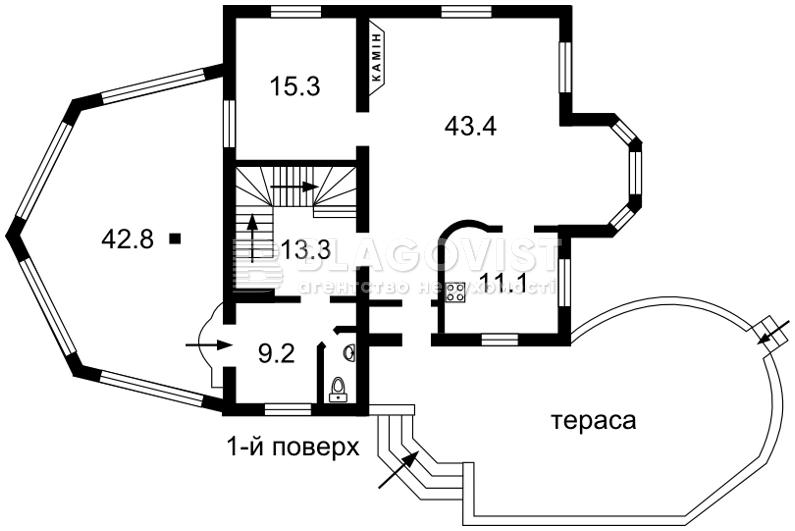 Дом F-35392, Вита-Почтовая - Фото 4