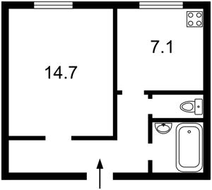 Квартира Саксаганского, 9, Киев, F-31754 - Фото2