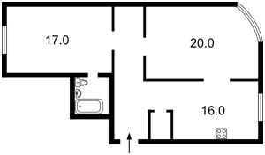 Квартира Героев Сталинграда просп., 2д, Киев, Z-1537341 - Фото2